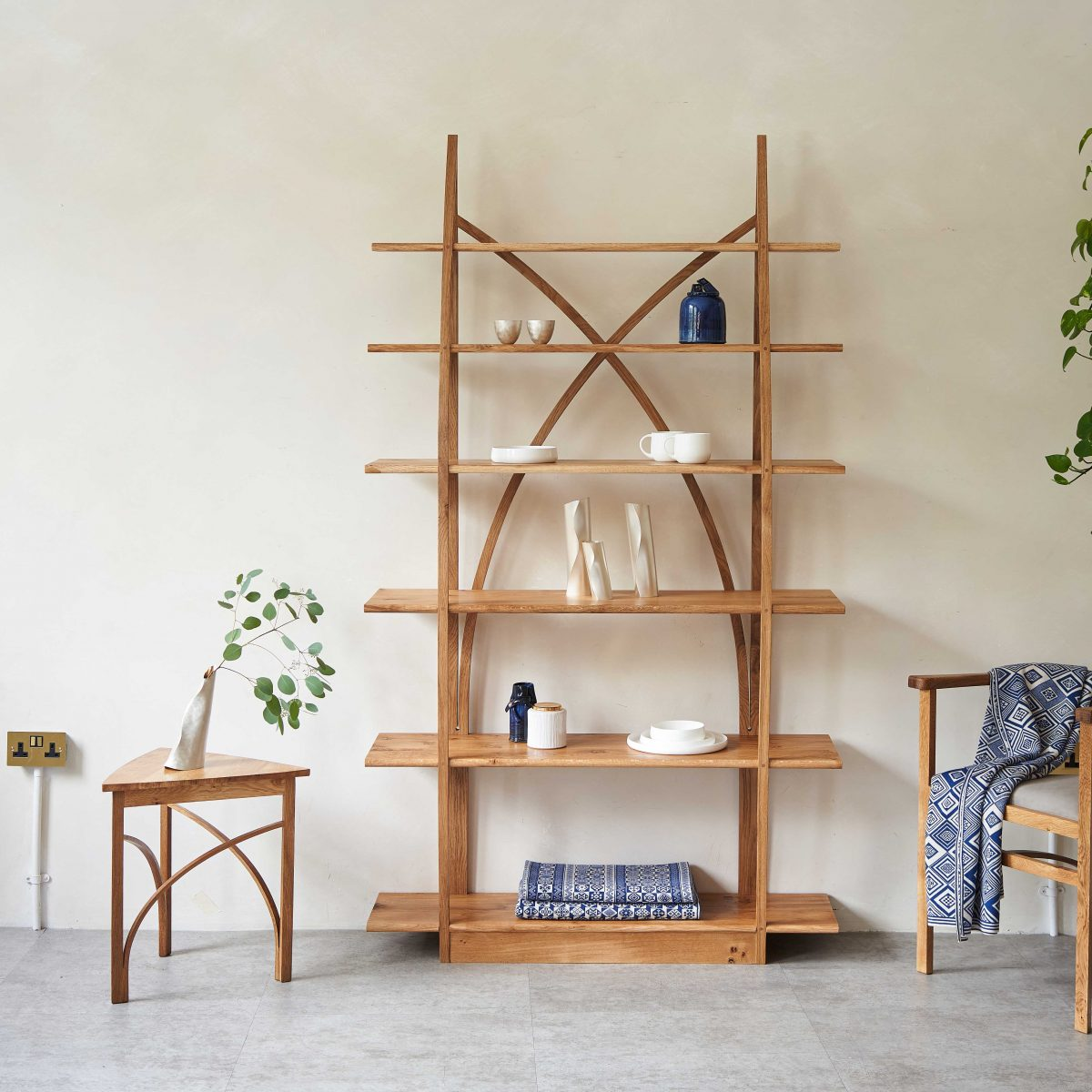 A group photo of work by Design-Nation exhibitors at Decorex, by Yeshen Venema styled by Jessica Yeung